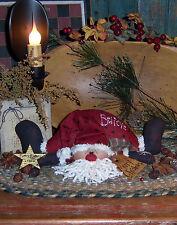 Primitive Patti's Ratties Original Raggedy Believe Santa Doll Paper Pattern #202