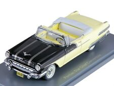PONTIAC Star Chief Convertible Black, Yellow 1956, model cars 1/43