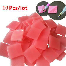 10Pcs Paste DIY Sticker Dotting Diamonds Point Pen Drilling Mud Nail Art Tools