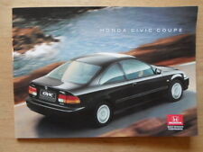 HONDA CIVIC COUPE orig 1995-96 UK Mkt Glossy Sales Brochure