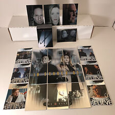 X-FILES: I WANT TO BELIEVE Card Set + 3 CHASE SETS S1-S9, WB1-WB6, BB1-BB3 & CL1