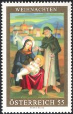 Austria 2006 Christmas/Greetings/Nativ ity/Donkey/Painting/Art/Ar tists 1v at1113