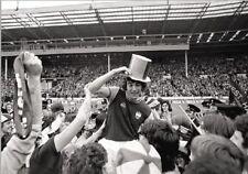 West Ham Trevor Brooking Celebrates 1975 FACup Final Win POSTER