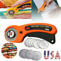 20Pcs 45mm Rotary Cutter Refill Blades Quilters Sewing Fabric Cutting Tools US🔥