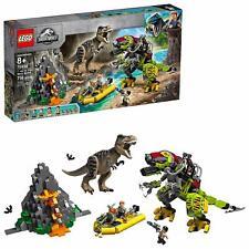 LEGO Jurassic World T. rex vs Dino-Mech Battle 75938 Battle Toy T. Rex Figure
