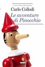 fiaba storia Le avventure di Pinocchio Libro Segnalibrocollodi carlo crescere