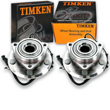 Timken Front Wheel Bearing & Hub Assembly for 2007-2010 Jeep Wrangler Pair bh