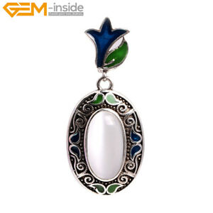 Banquet White Cat Eye Marcasite Ring Earrings Pendant Fashion Jewelry Set Gift