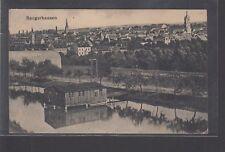 21014) Sangerhausen 1917 Feldpost AK nach Gersdorf gelaufen