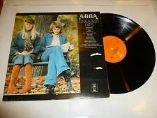 ABBA - Greatest Hits - 1976 UK Orange Epic label Vinyl LP