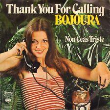 """BOJOURA – Thank You For Calling (1974 VINYL SINGLE 7"""" NEDERPOP)"""
