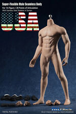 PHICEN M33 Flexible Seamless Male MUSCULAR Figure Body Steel Skeleton SUNTAN USA