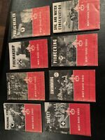 BOY SCOUTS OF AMERICA MERIT BADGE SERIES MANUALS EUC LOT OF eight. 1960s