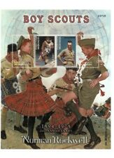 Micronesia - 2003 - Norman Rockwell Boy Scouts - Sheet of 4 Stamps MNH