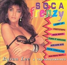 RARE! Soca Frenzy by Byron Lee & the Dragonaires (CD, Apr-1998, Dynamic Sounds)