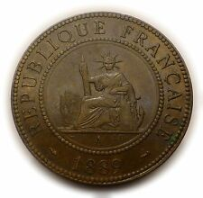 1 cent 1889 - INDO-CHINE Colonie Francaise - France
