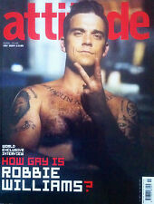 ** boyz ATTITUDE bent gay times issue 127 Nov 2004 ROBBIE WILLIAMS Mark Gattiss
