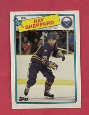 1988-89 TOPPS  # 55 SABRES RAY SHEPPARD   ROOKIE  NRMT-MT  CARD