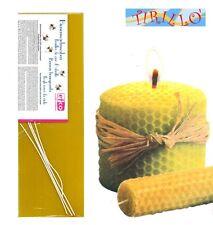 CANDELE - Kit per realizzare candele in cera d'api - 40x13 cm