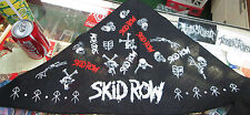 SKID ROW  VINTAGE BANDANA  NEW  COLLECTABLE