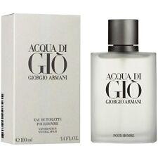 Giorgio Armani Acqua di Gio Men Edt Spray 3.4oz 100ml New in Box *Free Sample*