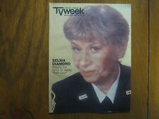 Jan. 6, 1985 Chicago Tribune TV Week (SELMA DIAMOND/NIGHT COURT/CRAZY LIKE A FOX