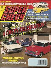 Super Chevy Mag - Apr 1990 - Torque Converter - 1964 Chevelle - Small Block