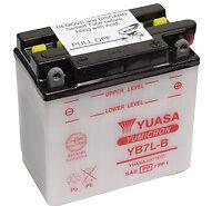 Batterie MOTO 12V - YB7L-B - Marques : YUASA
