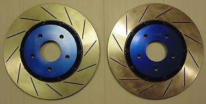 Pro Concept FRONT 2pc. Brake Disc Rotor PAIR for Nissan Skyline R34 GT-T RB25DET