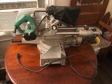 Hitachi C 8FB sliding compound miter saw twin rail - rare - plumbing ?