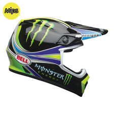 2018 BELL MX-9 MIPS MOTOCROSS MX BIKE HELMET - PRO CIRCUIT MONSTER GREEN