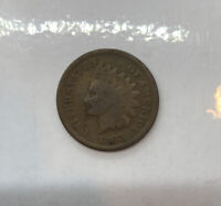 1868 Indian Head Cent Penny Better Date Key Nice Details