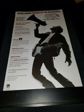 Bryan Adams Can't Stop This Thing We Started Rare Radio Promo Poster Ad Framed 4