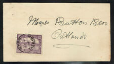 Tasmania Scott#104 Single On 1906 Cover Mailed Locally
