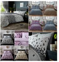 Leopard and Snake Skin Pattern Modern Duvet / Quilt Cover Reversible Bedding Set