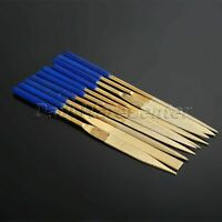 10Pcs Grit 120# Needle File 5x150mm Diamond Coated Carving Jewelry Craft Tool