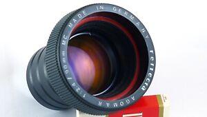 Reflecta Agomar 90mm 2,4 MC Ultralit PL Profi Line Braun Agfa Projection lens