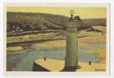 Couliou Le Phare De Sauzon Belle Ile France Lighthouse Art Postcard 893b