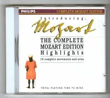 (GZ621) Various Classical Artists, The Complete Mozart Edition Highlights - CD