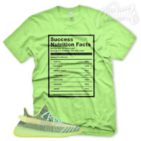"""""""SUCCESS FACTS"""" T Shirt for Adidas Yeezy Boost 350 YeezReel Non Reflective Glow"""