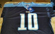 NWT Vince Young Tennessee Titans Authentic Reebok On Field Jersey Size 5XL