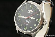 Boxed gift Russian watch AVIATOR MILITARY style Poljot 2614.2H Shturmovik IL-2