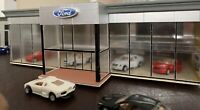 Ho 1:87 Scale Realistic Dealership Building