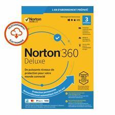 Norton 360 Deluxe 2020 3 App 3 PC 1 an PC 2019 PC MAC Internet Security FR EU