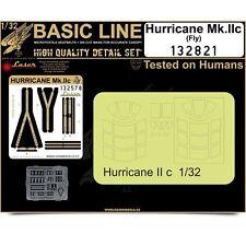 HGW Basic Line 1/32 seatbelt & mask Hurricane Mk. II for FLY- 132821