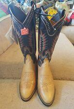Tony Lama Women's Leather Tall Sz 6 Buckaroo Cowboy Boots - NWT