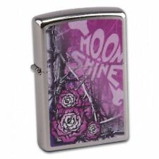MOONSHINE MUDDY GIRL Street Chrome ZIPPO neu+ovp COLLECTION 2019