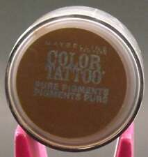 Maybelline Color Tattoo Pure Pigments Eye Shadow  #45Downtown Brown lot of 2