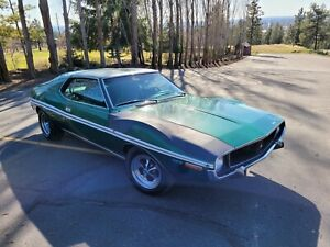 1971 AMC Javelin SST 360V8 40K ACTUAL MILES WELL DOCUMENTED