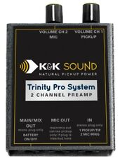 K&K Sound Trinity Pro Preamp 2 Channel Belt-clip for Pickup/Microphone w/Phase